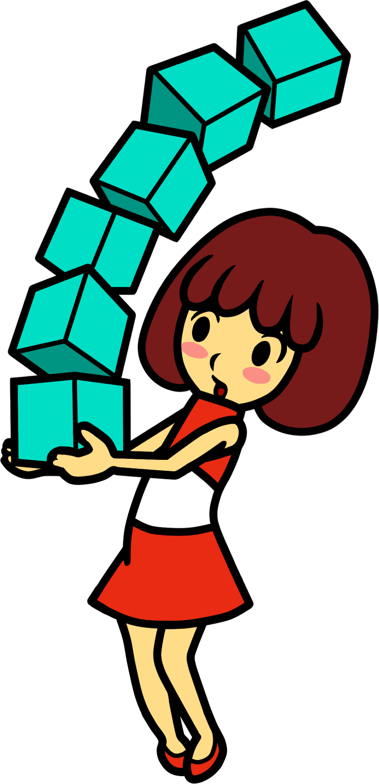 Image dazzle girl ds. Thumb clipart relic