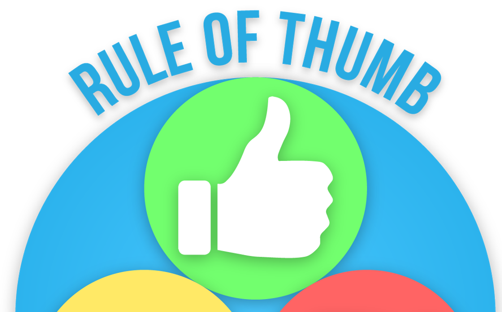 Thumb clipart rule thumb. The of opinion laloyolan