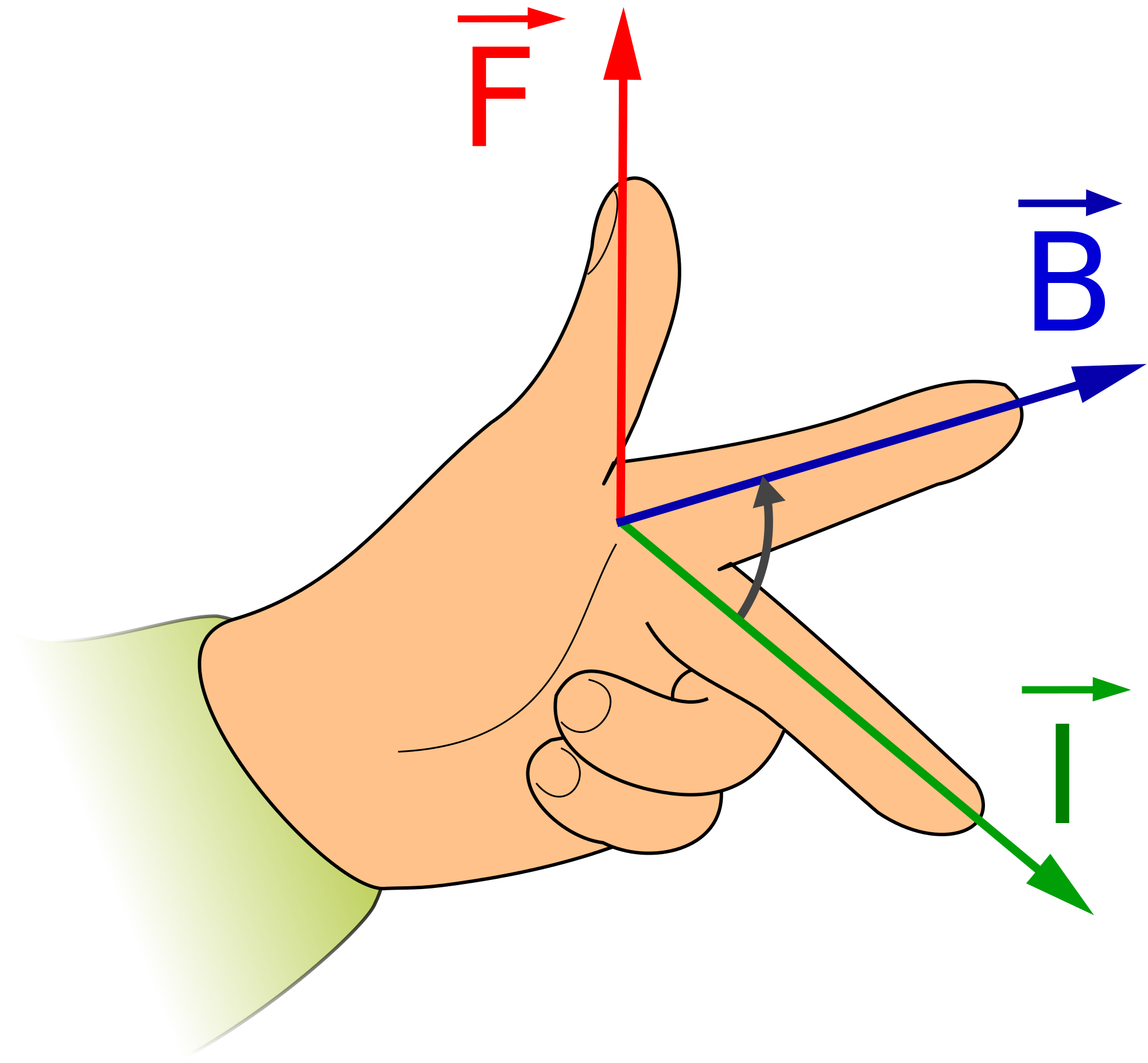 File lefthandrule svg wikimedia. Thumb clipart rule thumb