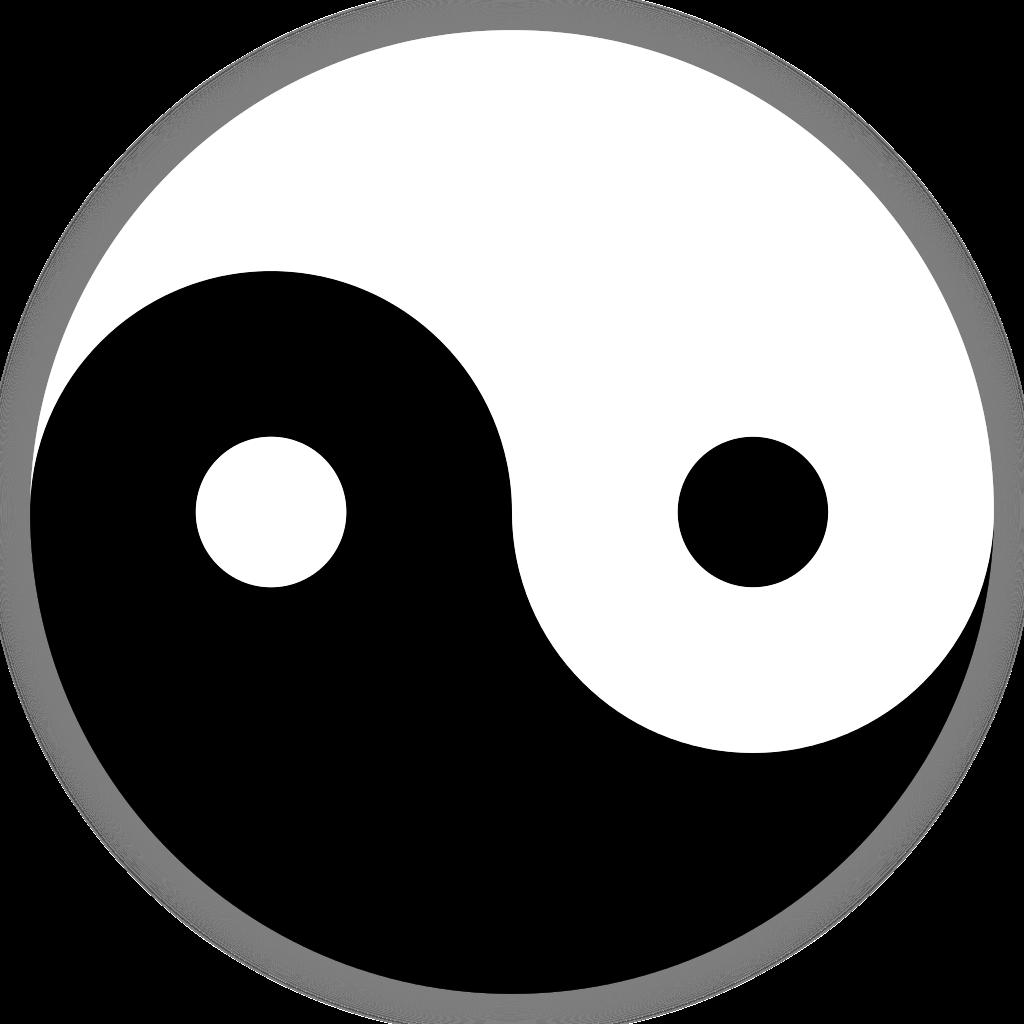 Thumb clipart sideways. File ying yang svg