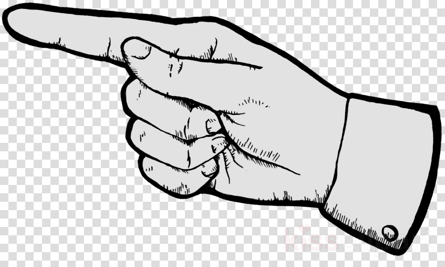 Thumb clipart sketch. Book drawing hand finger