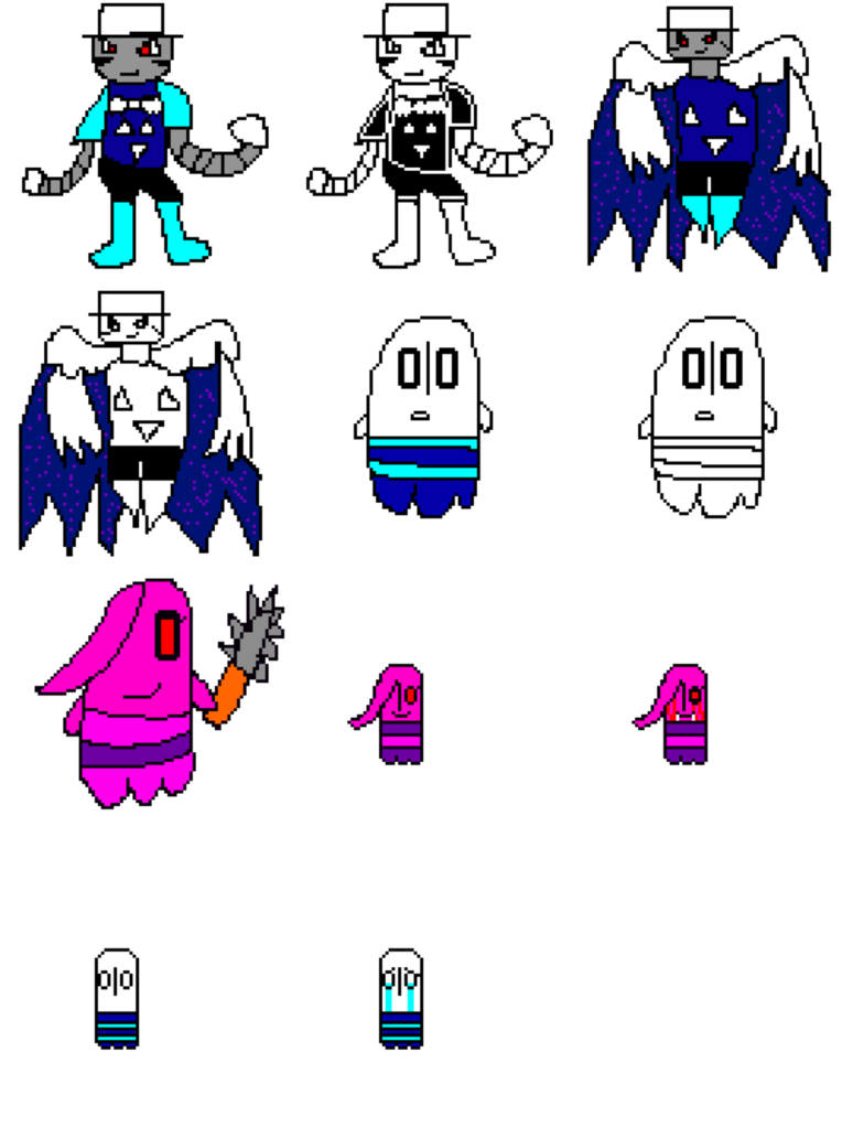 Storyshift napstablook and mettacrit. Thumb clipart tac