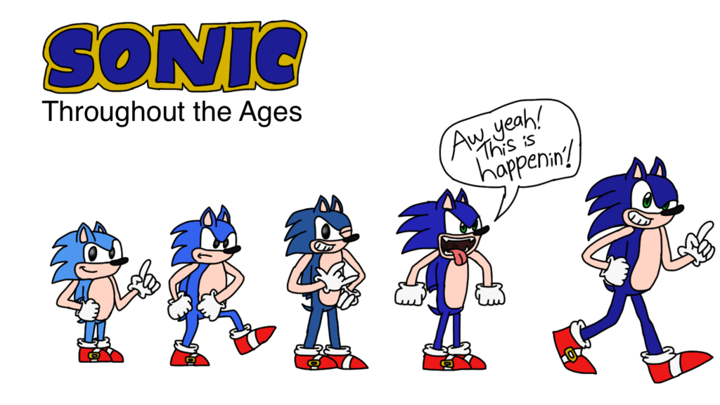 Sonic the hedgehog throughout. Thumb clipart tac