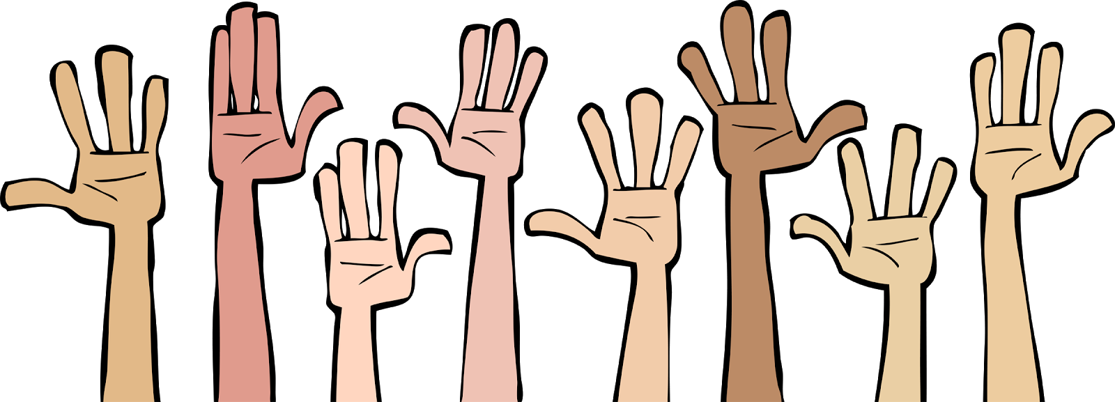 Voting clipart thumb. Animation hand cartoon vote