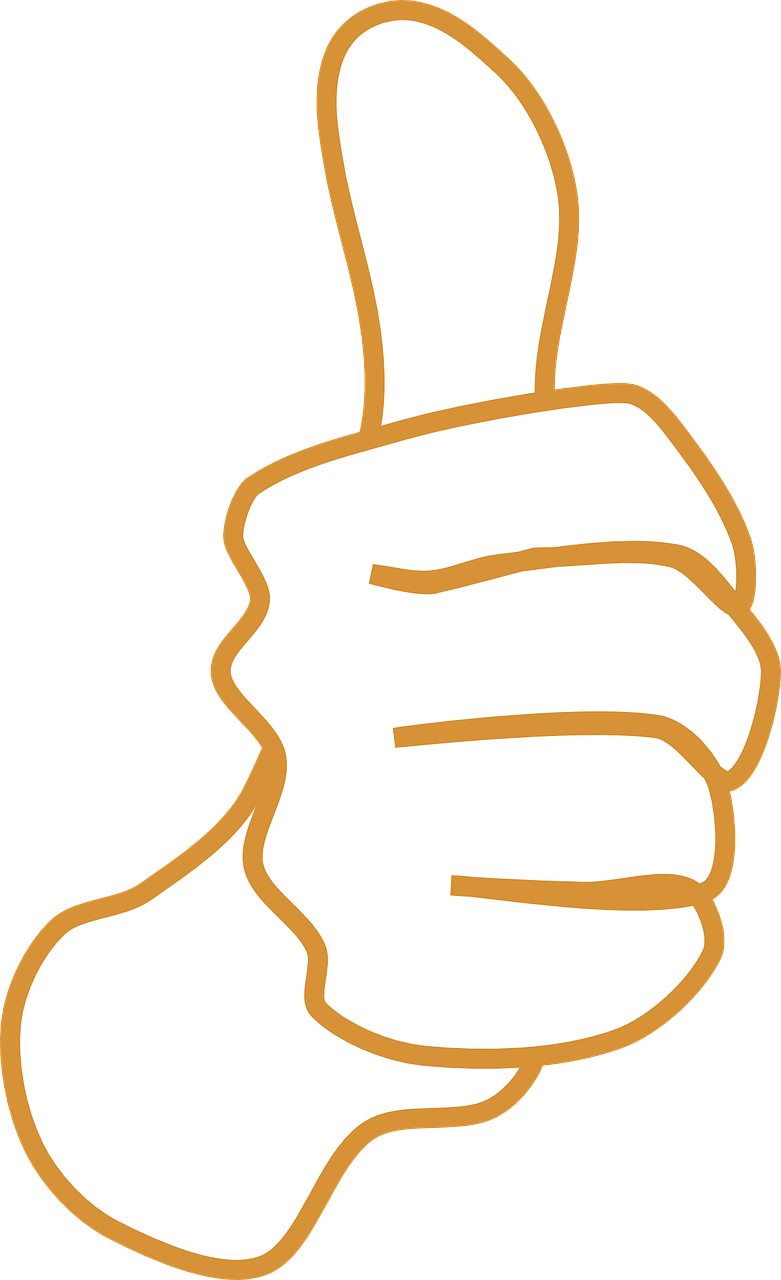 thumb clipart yes