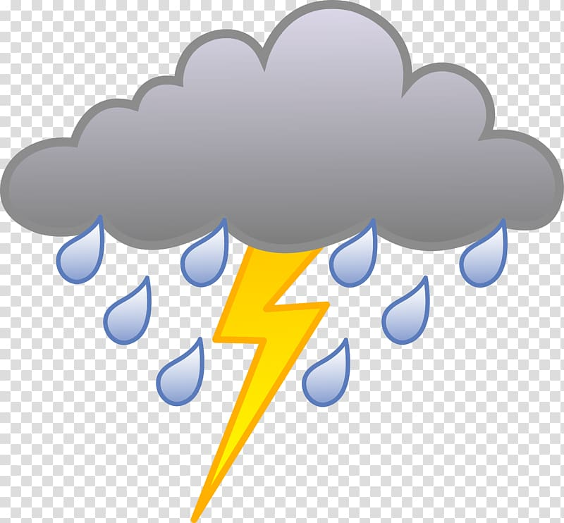 Rain cloudy weather for. Thunderstorm clipart