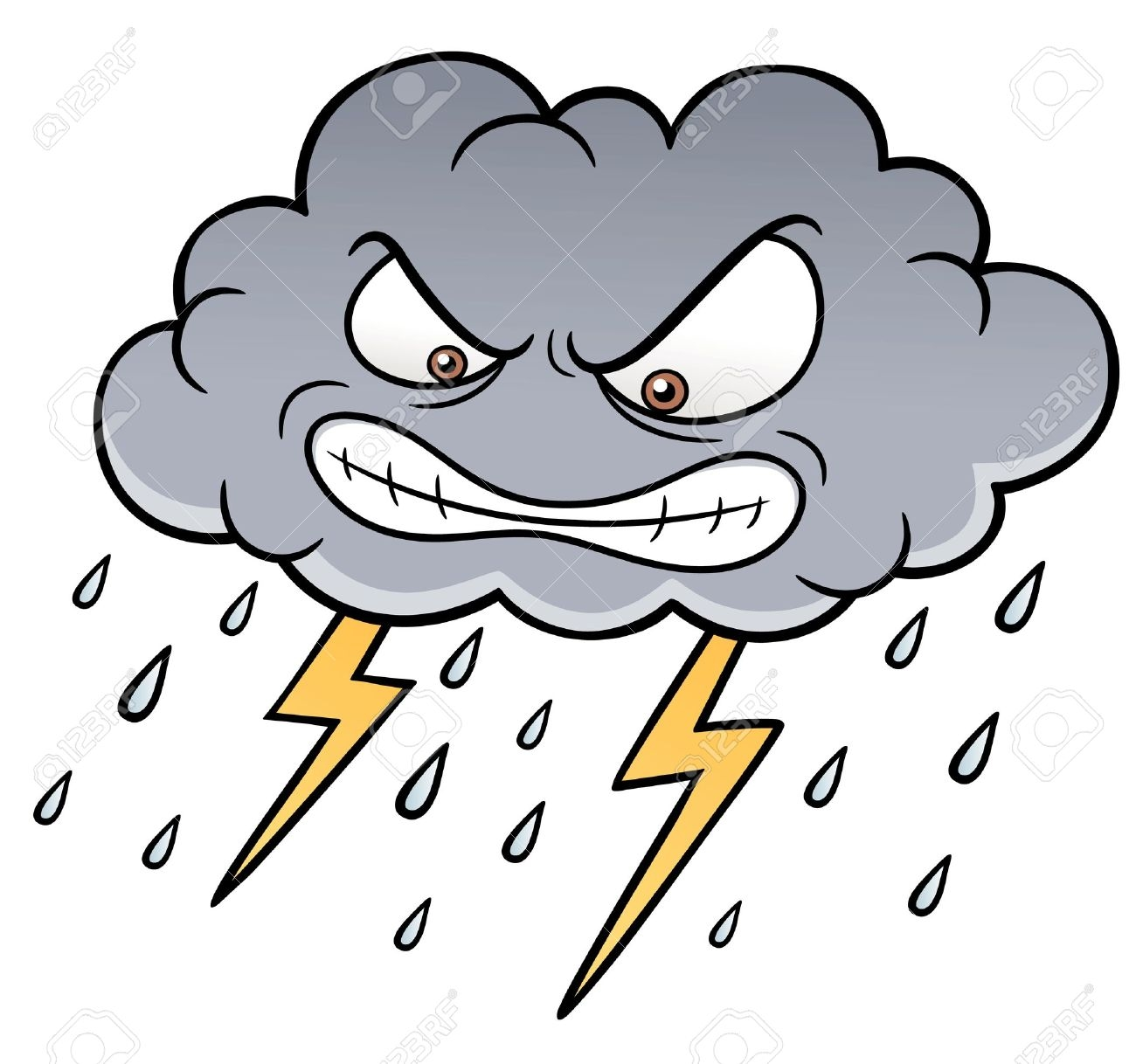 Best of design digital. Thunderstorm clipart