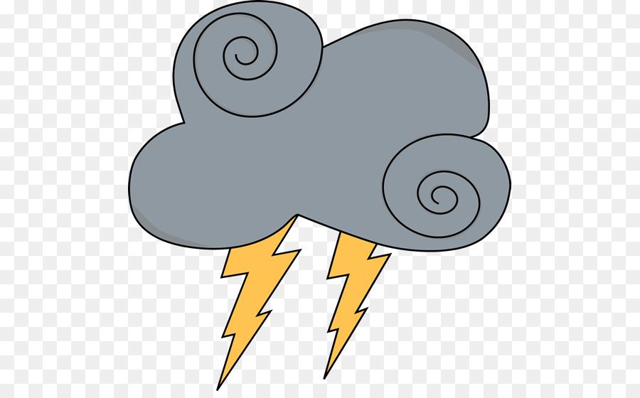 Thunderstorm clipart. Lightning cloud clip art