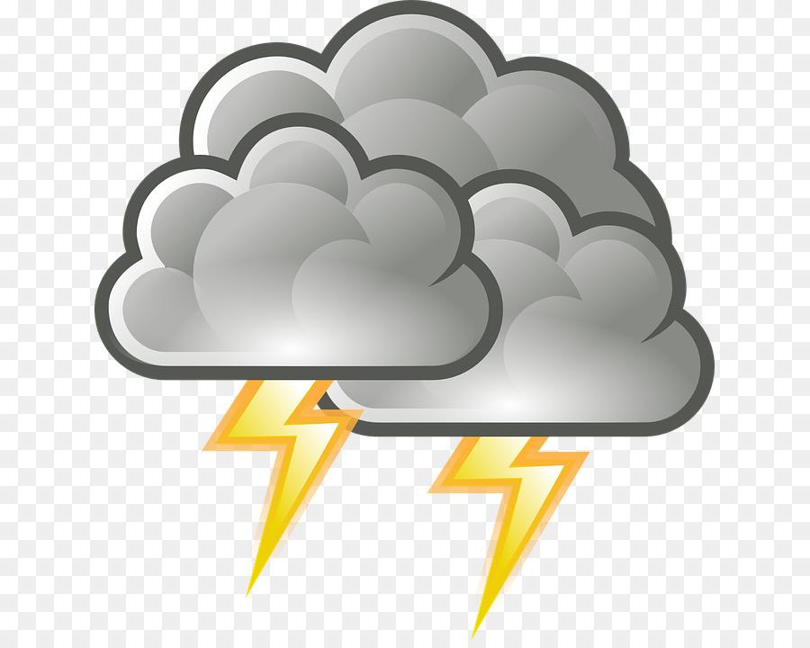 Thunderstorm clipart. Rain cloud lightning