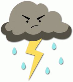 Thunderstorm clipart cute. Storm cliparts zone
