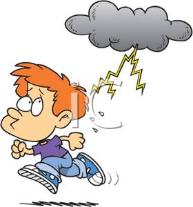 Free thunder download clip. Thunderstorm clipart scared