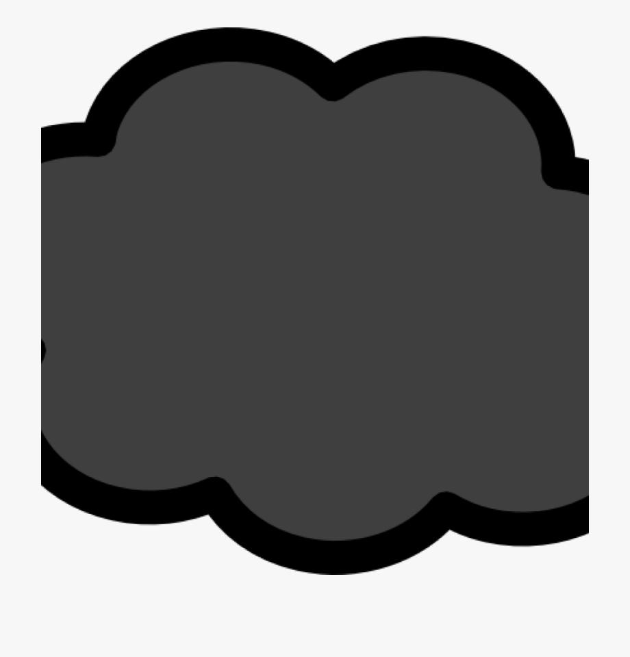 Storm dark clip art. Thunderstorm clipart stormy cloud