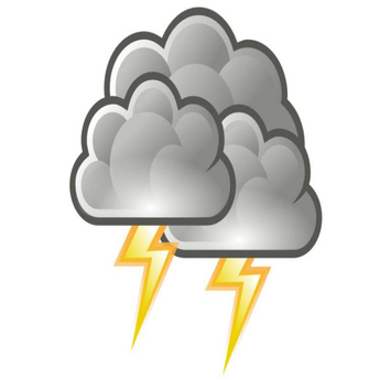 Thunderstorm clipart thunder sound. Second life marketplace realistic