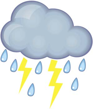 Thunderstorm clipart thunderstorm safety. Thunderstorms free download best