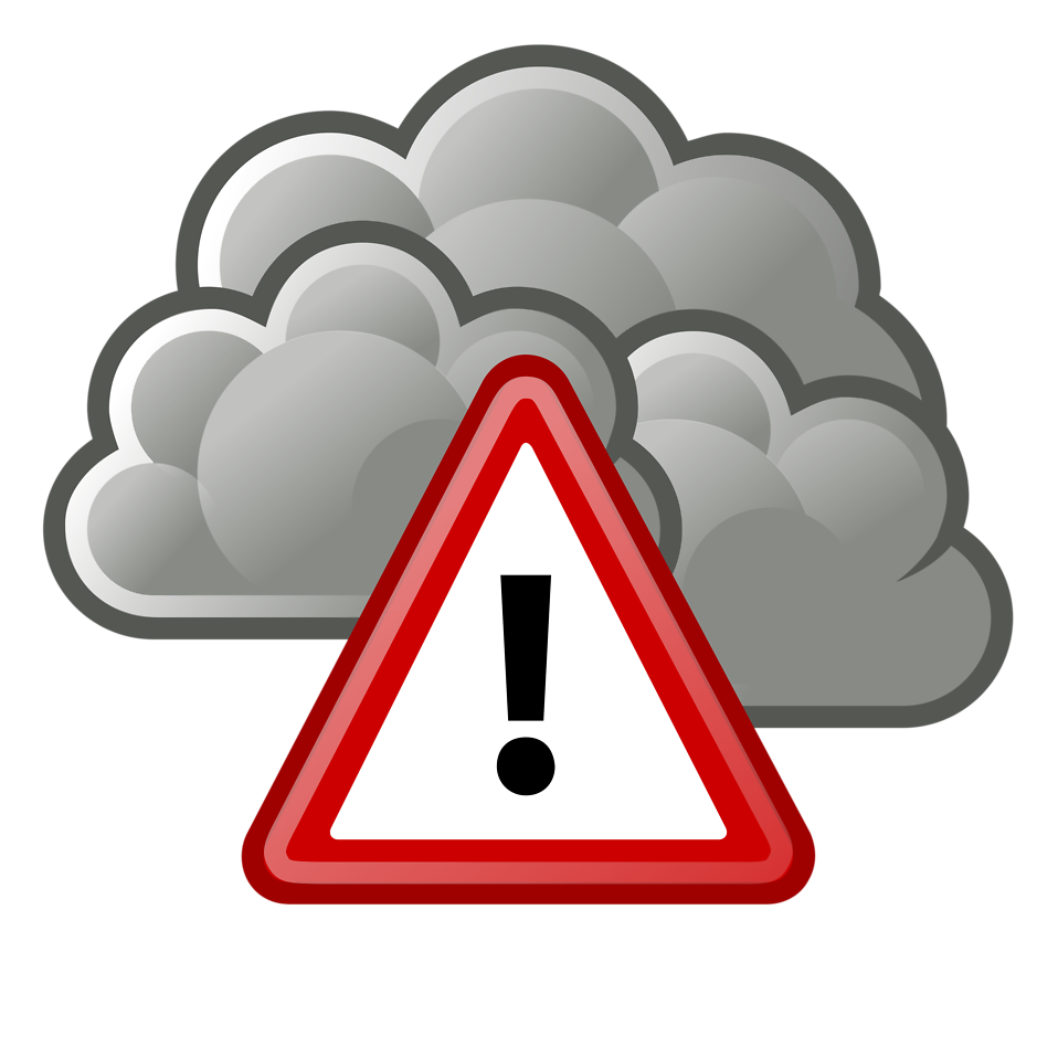 Thunderstorm clipart thunderstorm safety.  kgnc fm on