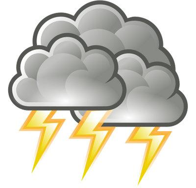 Thunderstorm clipart thunderstorm safety. Severe weather awareness week