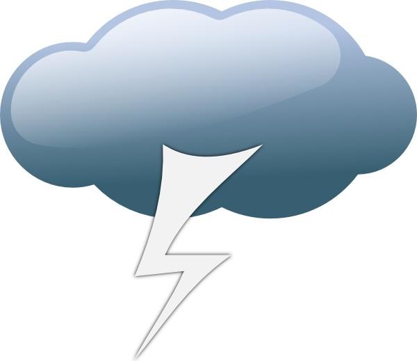Thunderstorm clipart thunderstorm weather. Symbols clip art free