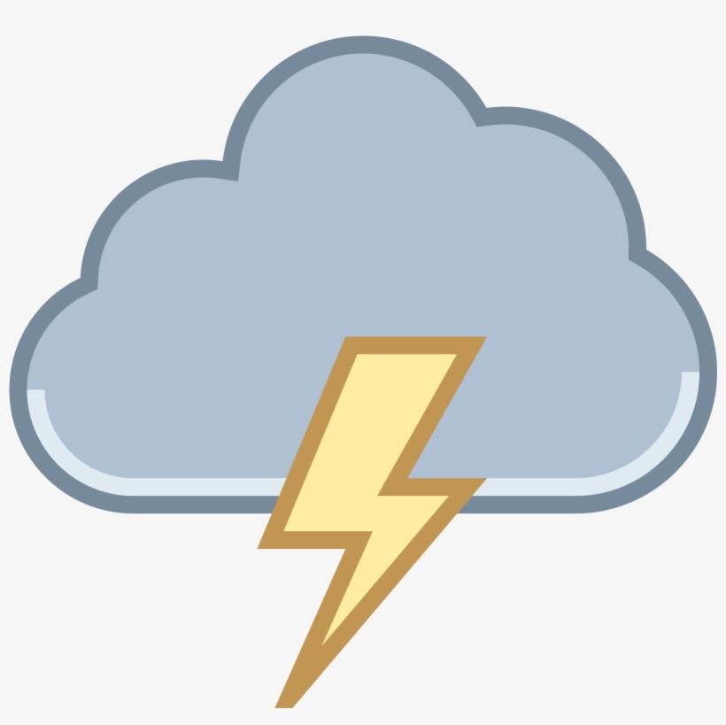 Thunderstorm clipart transparent. Storm cloud lightning symbol