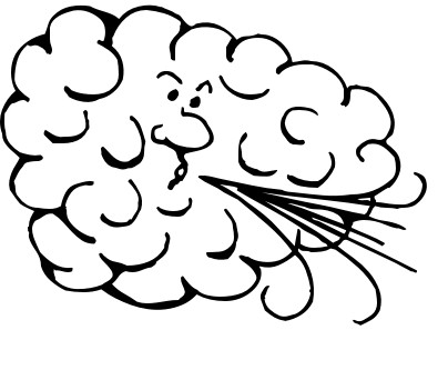 Clip art thunderstorm panda. Windy clipart bad weather