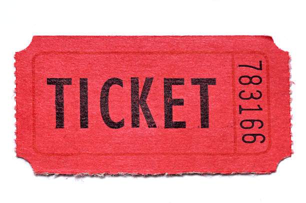 Ticket clipart. Red raffle tickets free