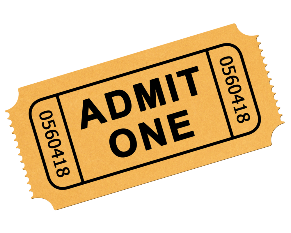 Tickets clipart.  collection of ticket