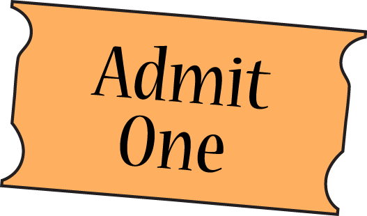 Ticket clipart admission. Free cliparts download clip
