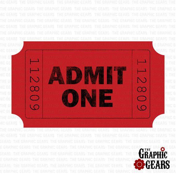 Movie stub clip art. Ticket clipart admit one
