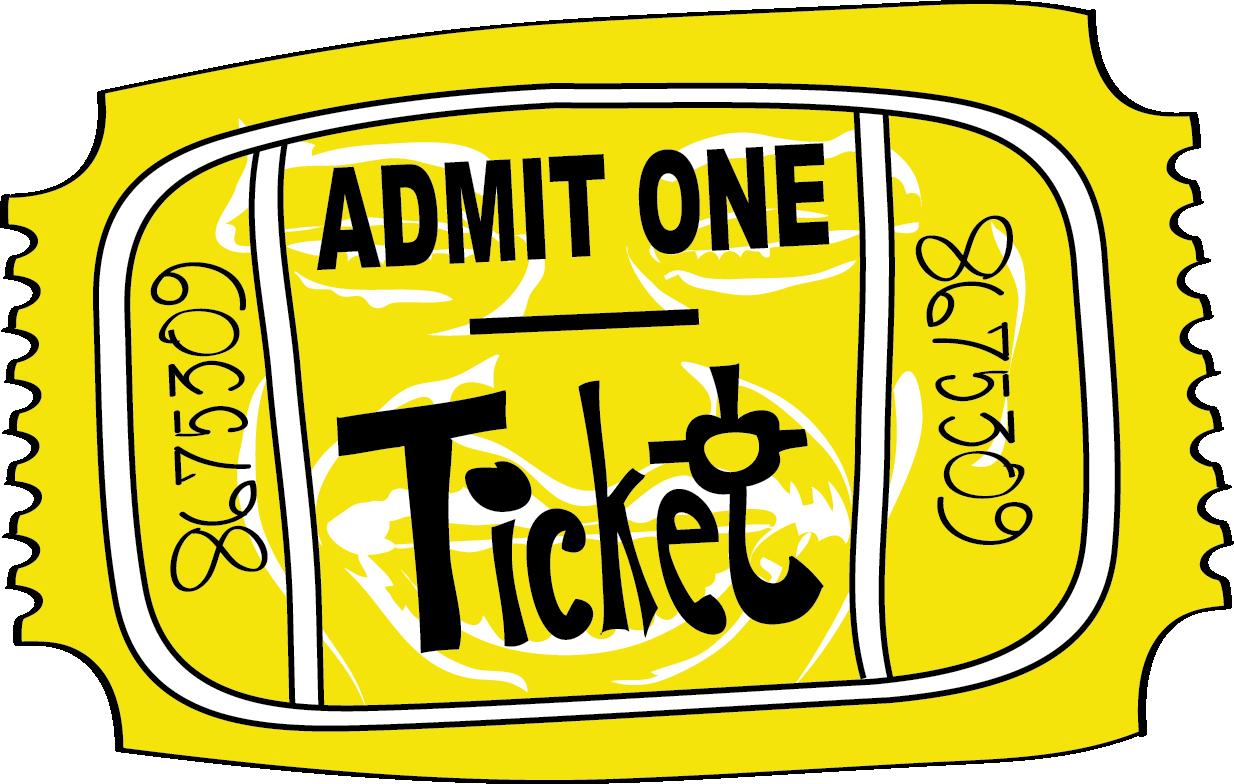 Tour dates rivest dunlap. Ticket clipart admit one