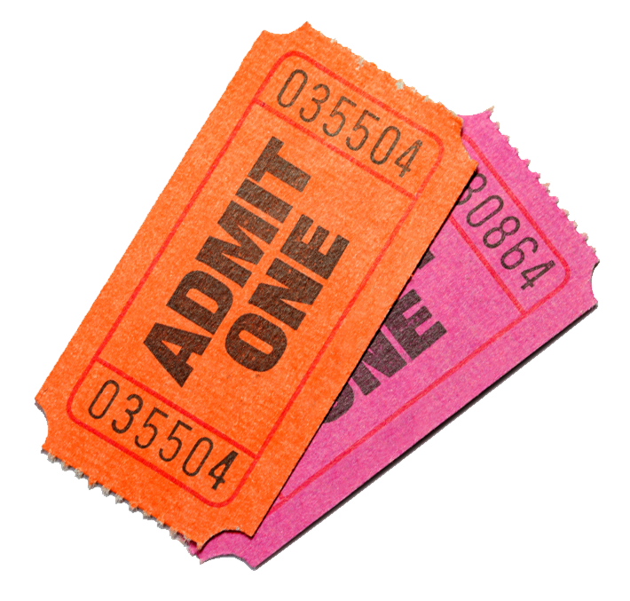 Ticket clipart admit one. Gaytvgames so who s