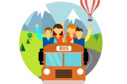 Compare book online and. Tickets clipart bus fare