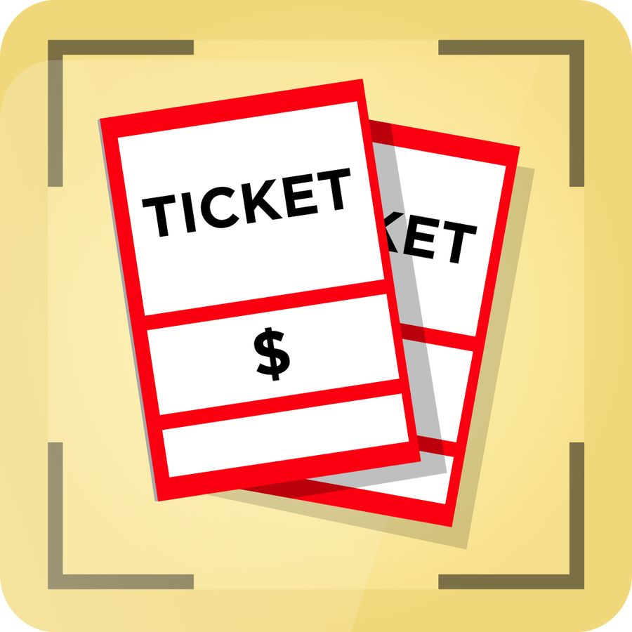 By tzeege for design. Ticket clipart entry
