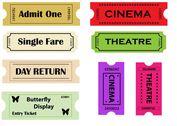 Tickets clipart entry. Clip art free stock