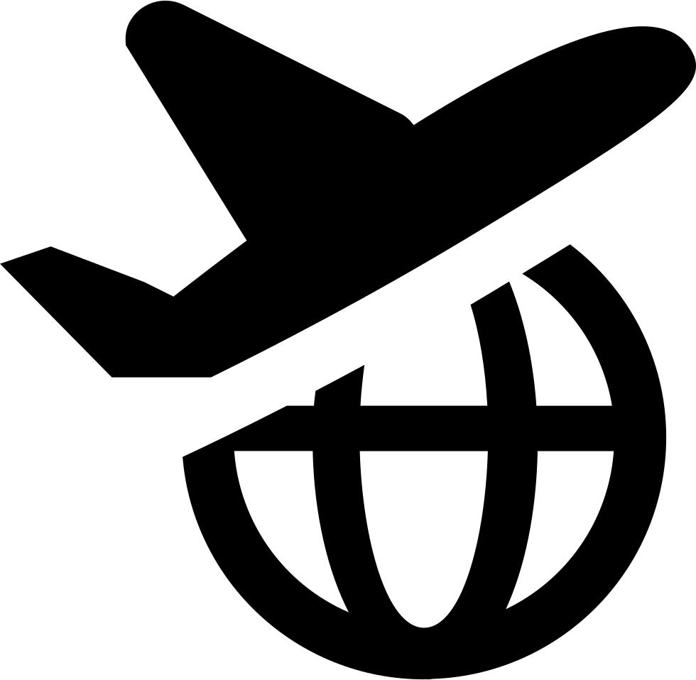International svg png icon. Ticket clipart flight ticket