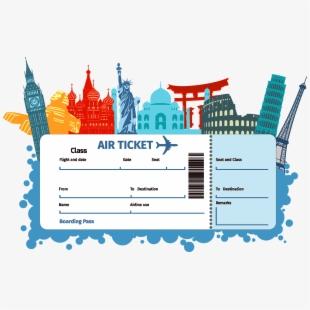 Ticket clipart flight ticket. Air boarding pass svg