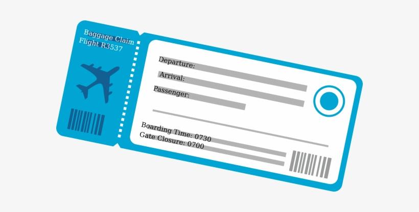 Ticket clipart flight ticket. Plane png transparent