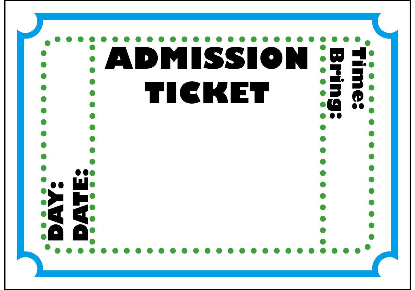 Free blank ticket cliparts. Tickets clipart fake
