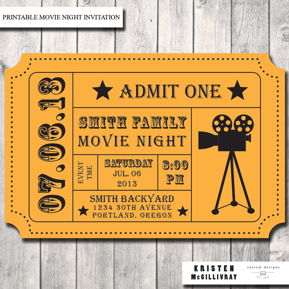 Movie Ticket Template For Word from webstockreview.net