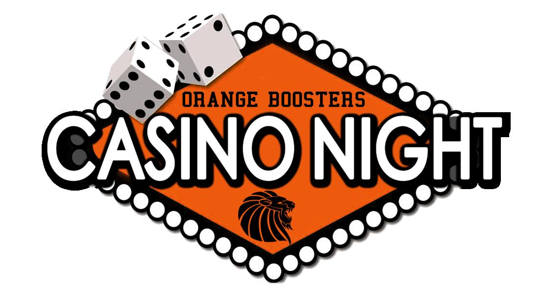 Ticket clipart opening night. Casino orange boosters