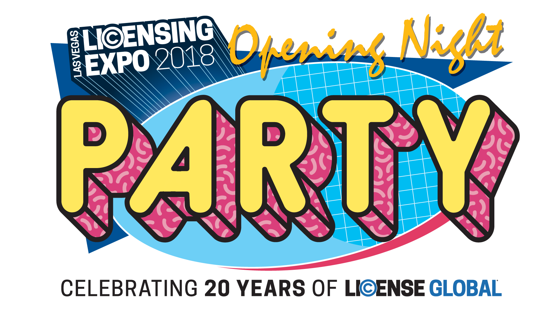 Party tickets licensing expo. Ticket clipart opening night