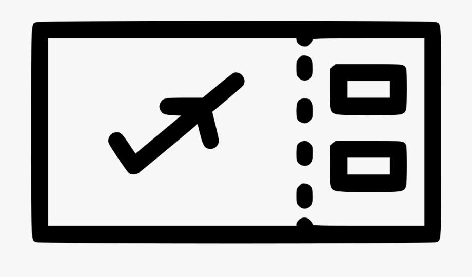 Ticket clipart passes. Flight air boarding pass