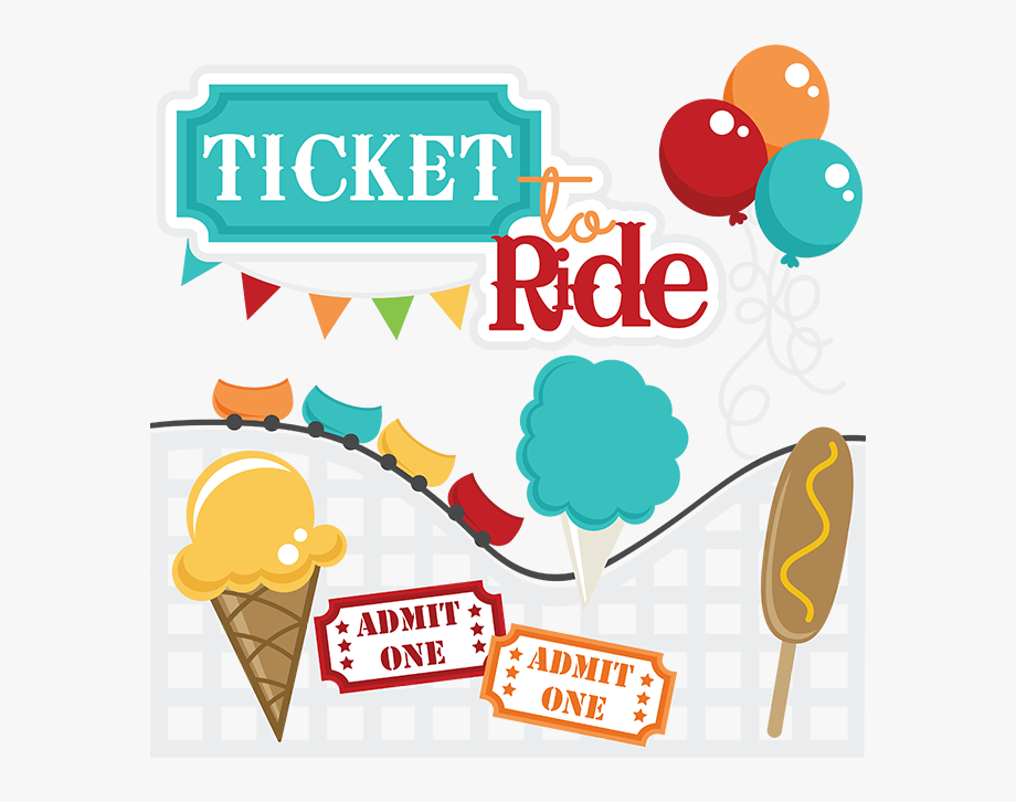 Ticket clipart ride. To svg files roller