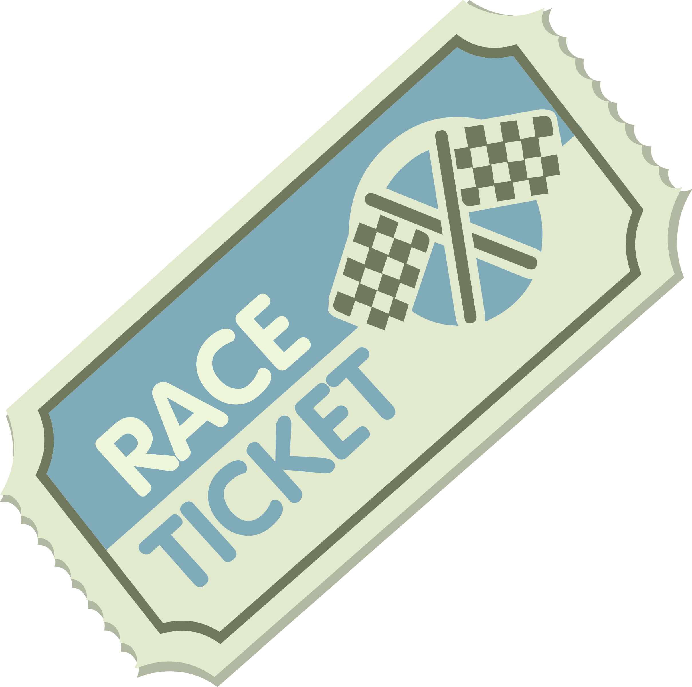 Misc race icons png. Ticket clipart svg