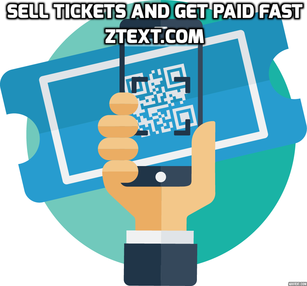 Ticket clipart ticket seller. Register with ztext and