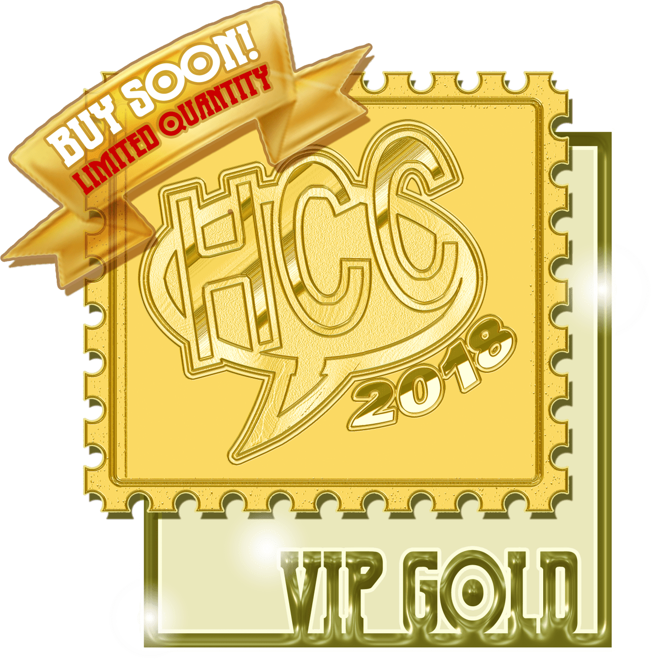 Gold icon hcc huntsville. Tickets clipart vip ticket