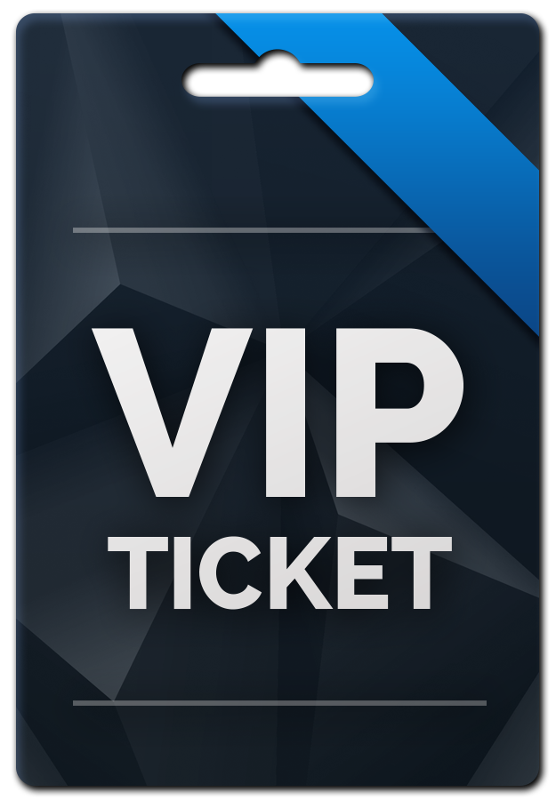 Tickets clipart vip ticket. Available prize blue