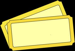 Movie tickets vectors download. Ticket clipart yellow