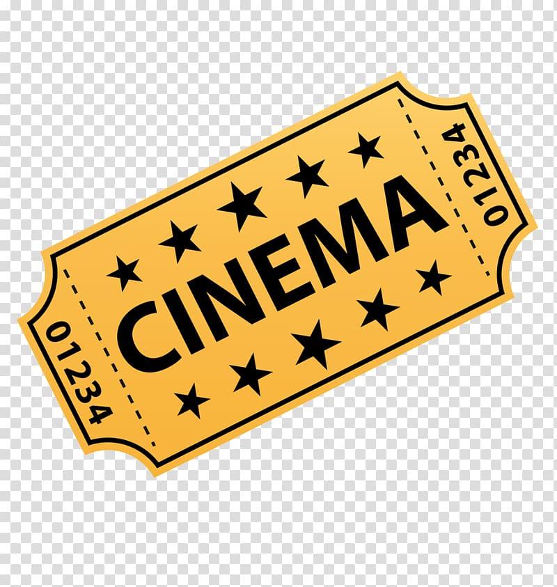 Ticket clipart yellow. Cinema illustration mister peabody