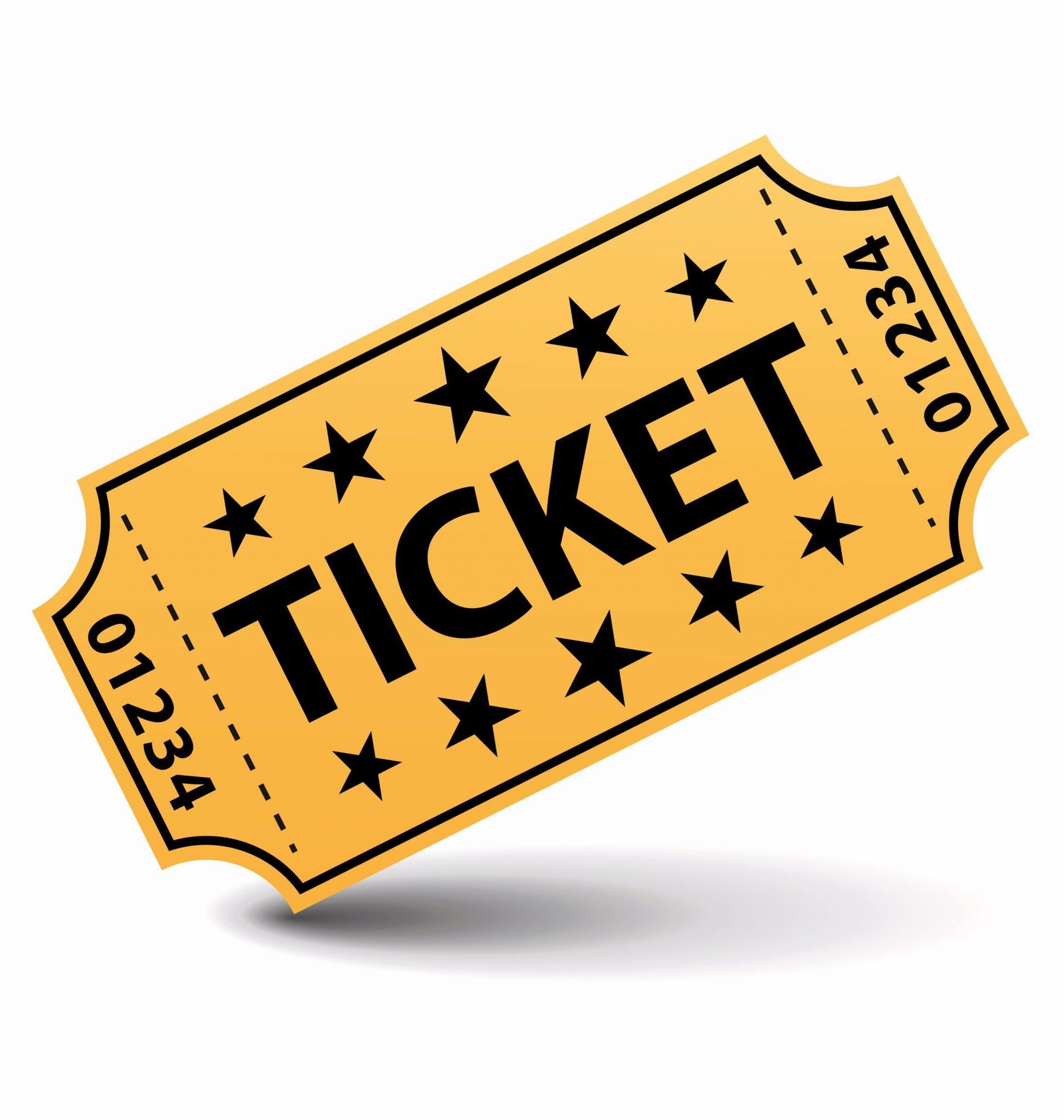 Gala myocarditis foundation. Tickets clipart