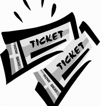 Ticket clip art to. Tickets clipart