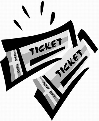 Movie ticket free images. Tickets clipart